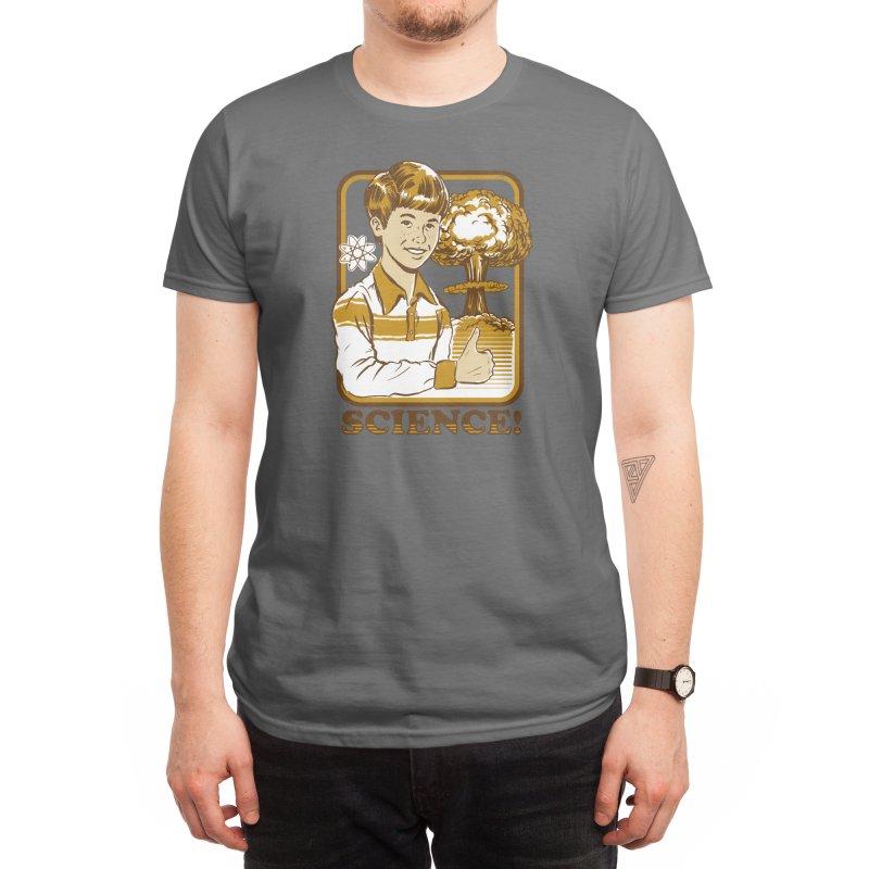 Science! (Black Variant) Men's T-Shirt by Threadless Artist Shop