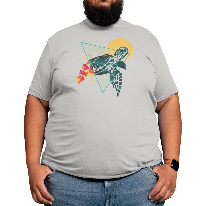 Geometric Turtle Men's T-Shirt by Threadless Artist Shop
