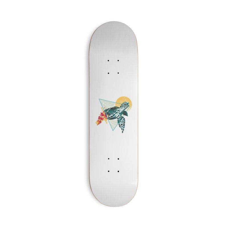 Geometric Turtle Accessories Skateboard by Threadless Artist Shop