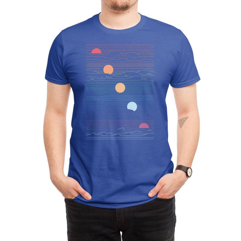 Many Lands Under One Sun (Black Variant) Men's T-Shirt by Threadless Artist Shop