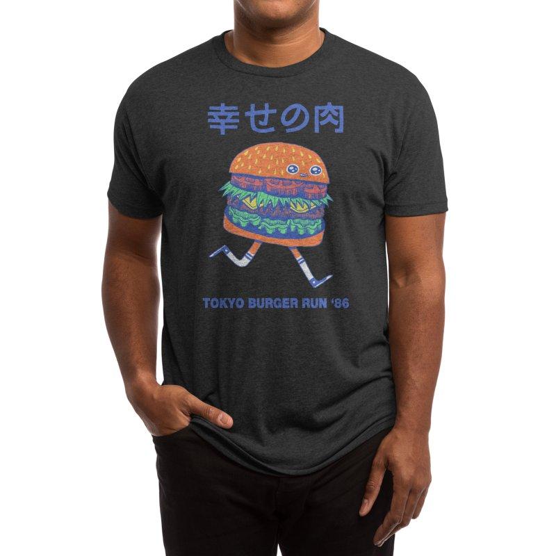 Burgerman (Black Variant) Men's T-Shirt by Threadless Artist Shop