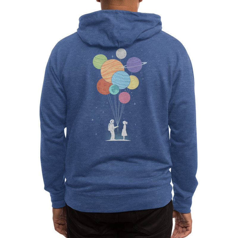 You Are My Universe (Black Variant) Men's Zip-Up Hoody by Threadless Artist Shop