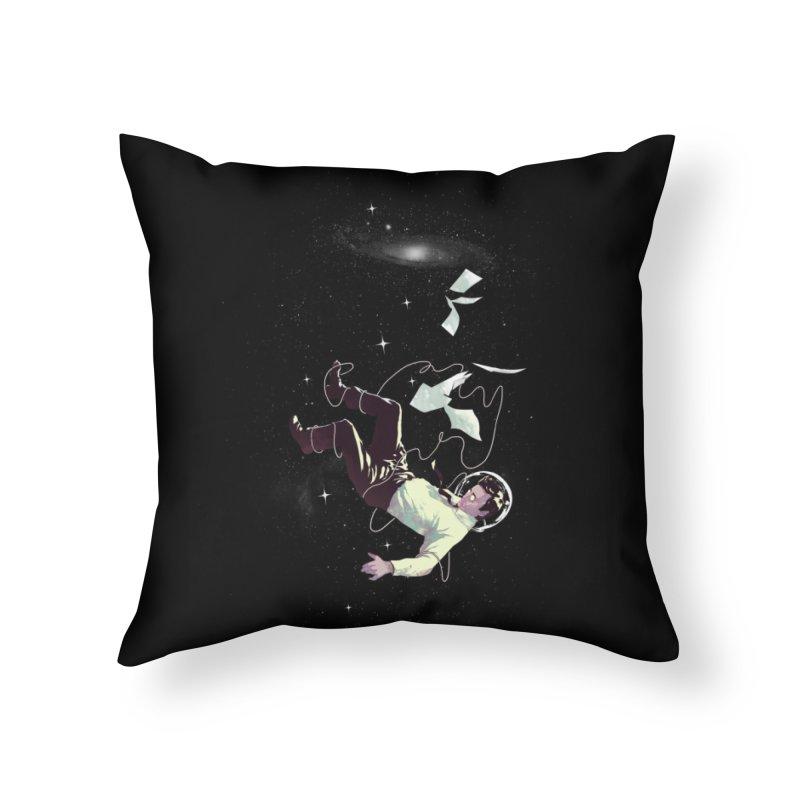The Big Drop Home Throw Pillow by Threadless Artist Shop