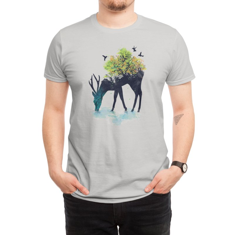Watering (A Life Into Itself) Men's T-Shirt by Threadless Artist Shop