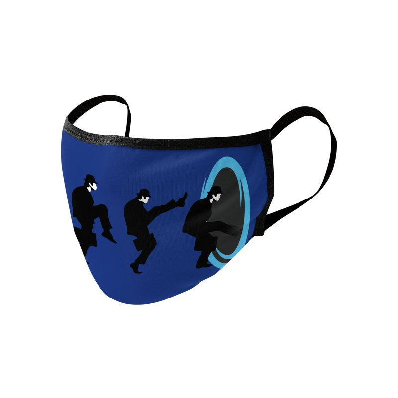 Ministry of Silly Portal Accessories Face Mask by Threadless Artist Shop