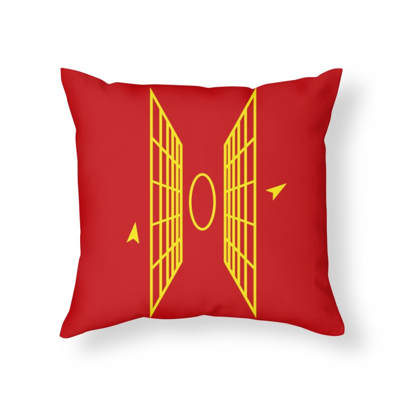 In My Sights Home Throw Pillow by Threadless Artist Shop