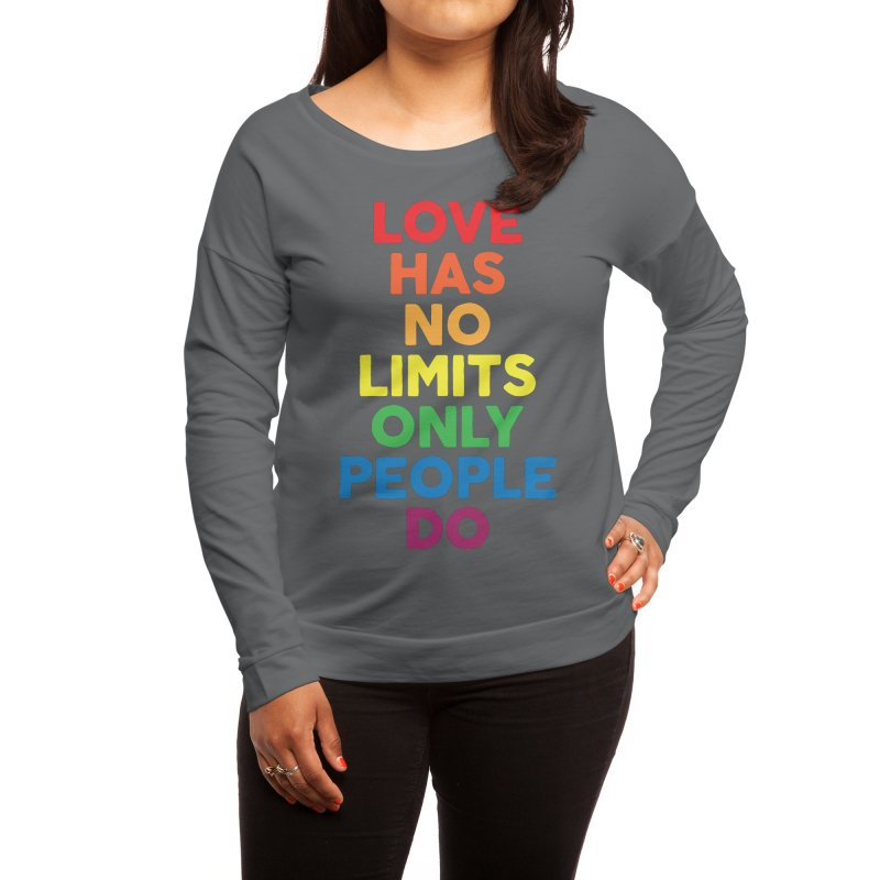 No Limits Women's Longsleeve T-Shirt by Threadless Artist Shop