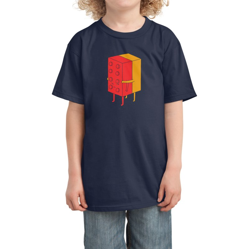 I'll Never Let Go Kids T-Shirt by Threadless Artist Shop