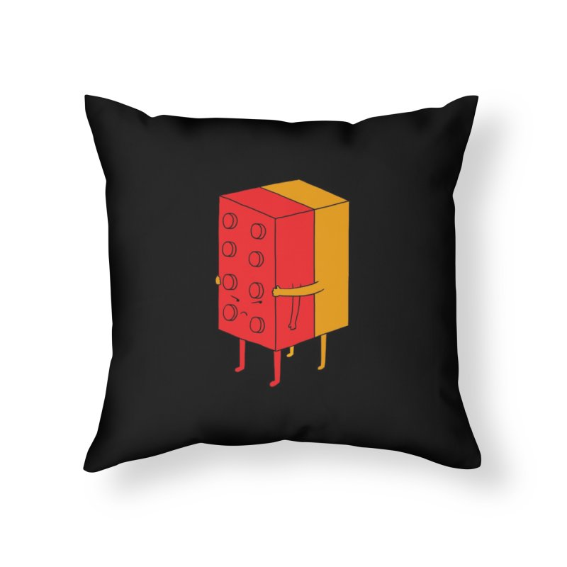 I'll Never Let Go Home Throw Pillow by Threadless Artist Shop