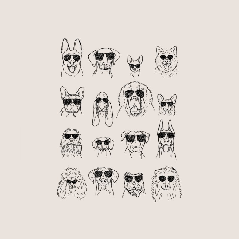 Gang of dogs Women's Scoop Neck by Threadless Artist Shop