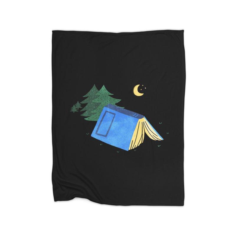Book Camp Home Blanket by Threadless Artist Shop