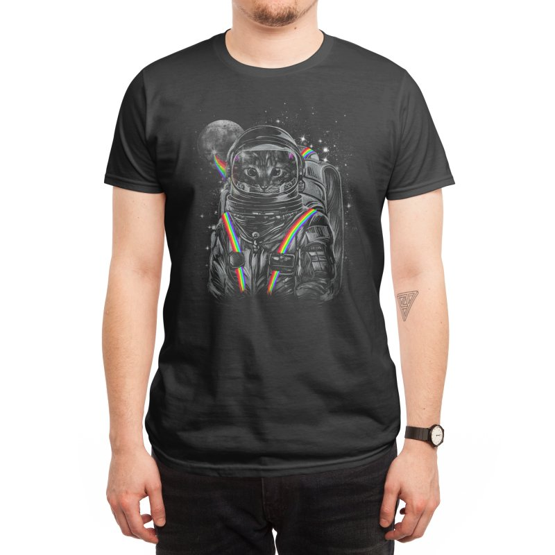 Space Mission Men's T-Shirt by Threadless Artist Shop