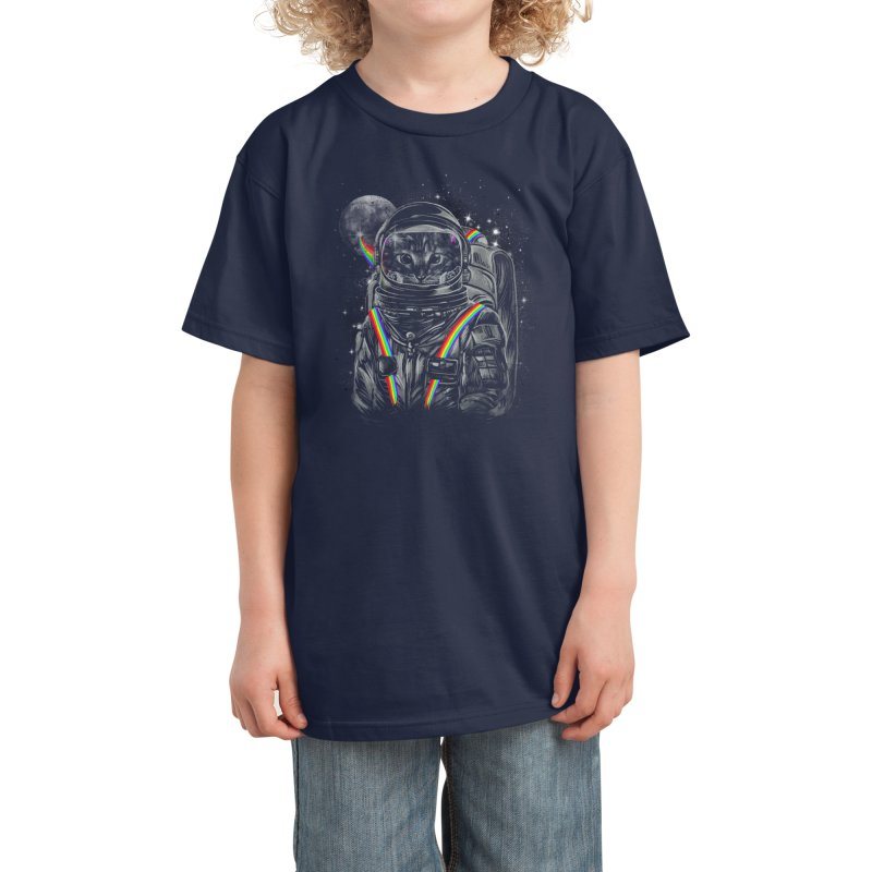 Space Mission Kids T-Shirt by Threadless Artist Shop
