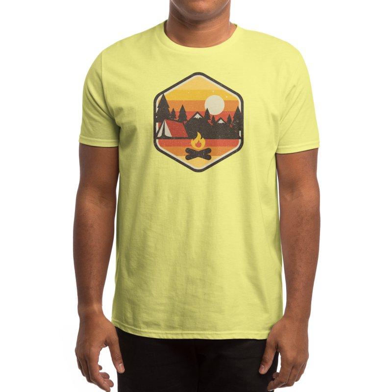 RETRO CAMPING Men's T-Shirt by Threadless Artist Shop