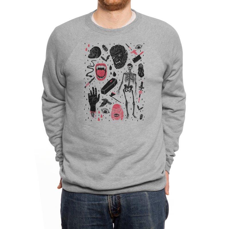 Whole Lotta Horror Men's Sweatshirt by Threadless Artist Shop