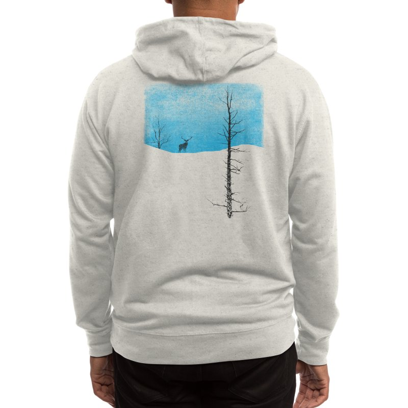 Lonely Tree Men's Zip-Up Hoody by Threadless Artist Shop