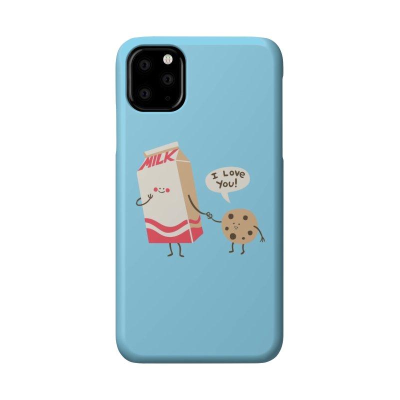Cookie Loves Milk Accessories Phone Case by Threadless Artist Shop