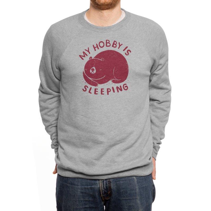my hobby is sleeping Men's Sweatshirt by Threadless Artist Shop