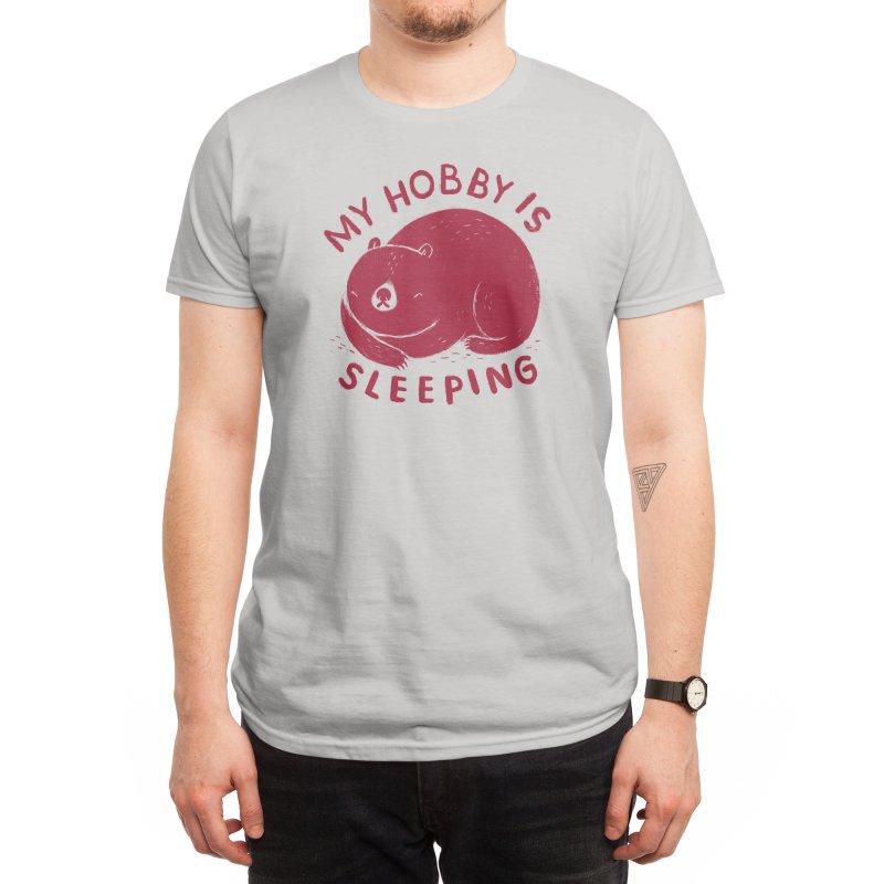 my hobby is sleeping Men's T-Shirt by Threadless Artist Shop