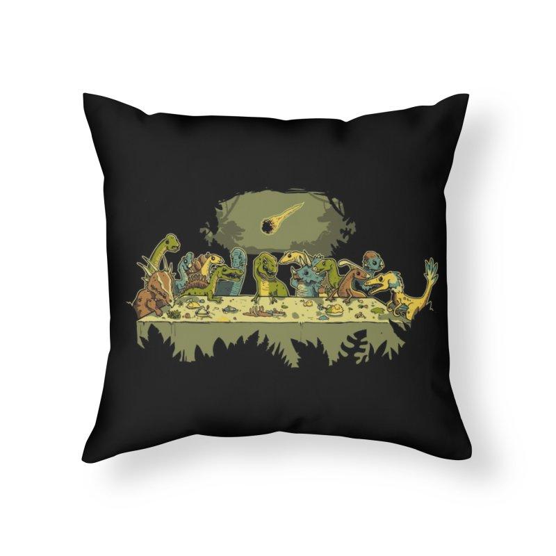 The Last Supper Home Throw Pillow by Threadless Artist Shop