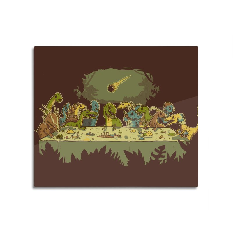 The Last Supper Home Mounted Acrylic Print by Threadless Artist Shop