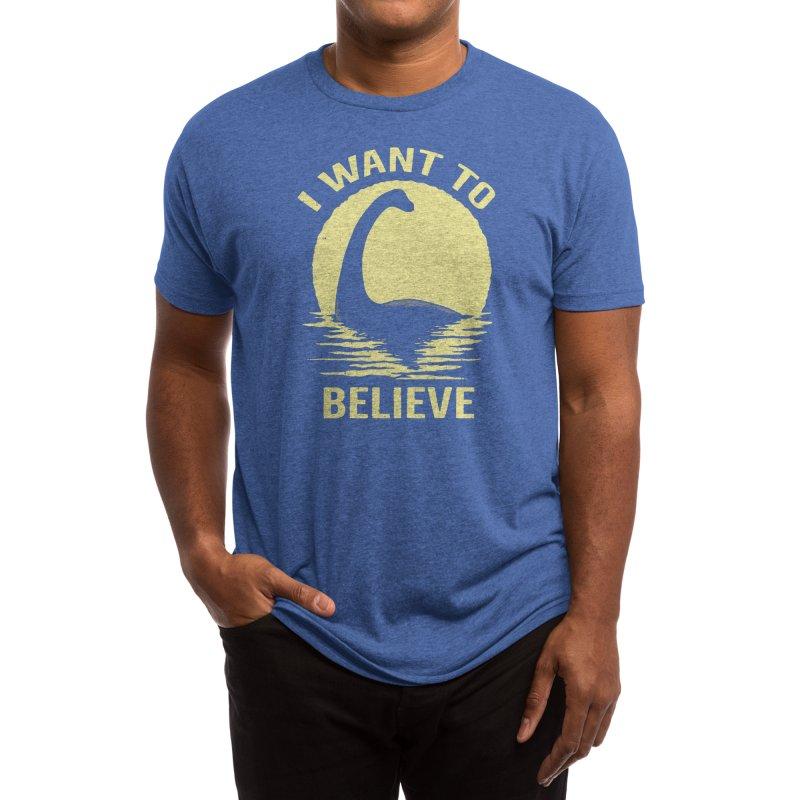 Believe in Nessie Men's T-Shirt by Threadless Artist Shop