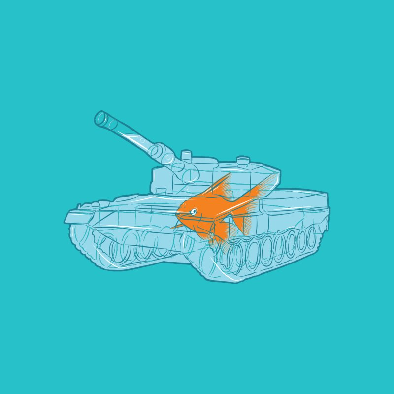 Fish Tank Home Bath Mat by Threadless Artist Shop