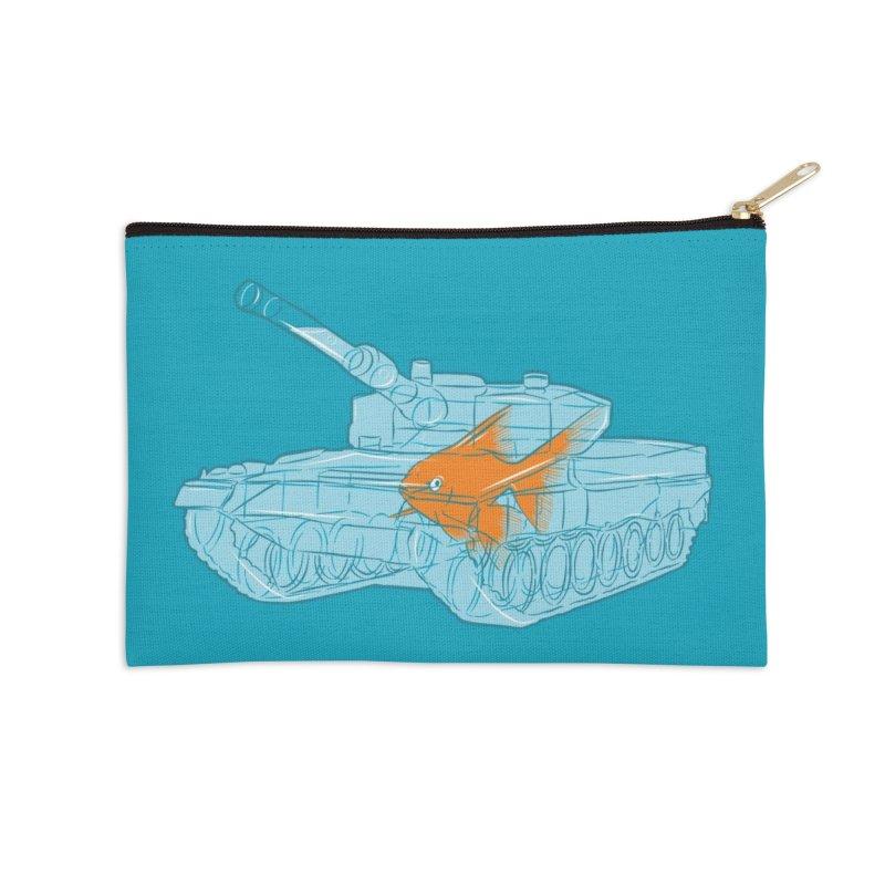 Fish Tank Accessories Zip Pouch by Threadless Artist Shop