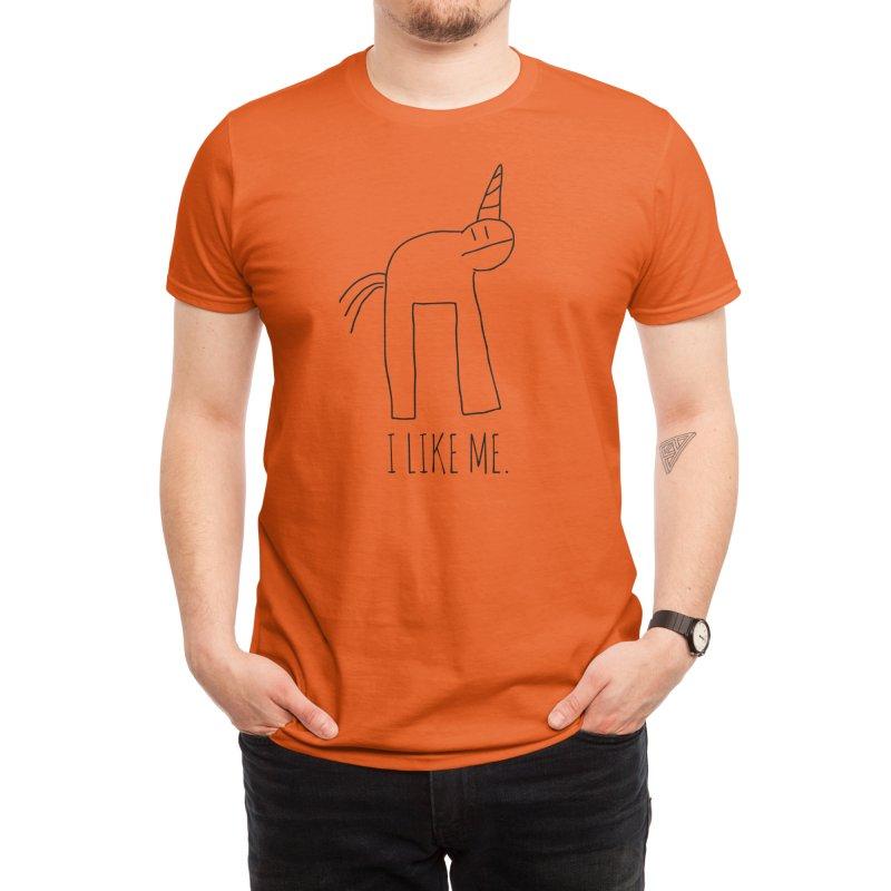I Like Me. Men's T-Shirt by Threadless Artist Shop