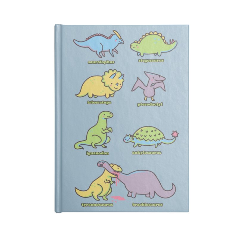 Know Your Dinosaurs Accessories Notebook by Threadless Artist Shop