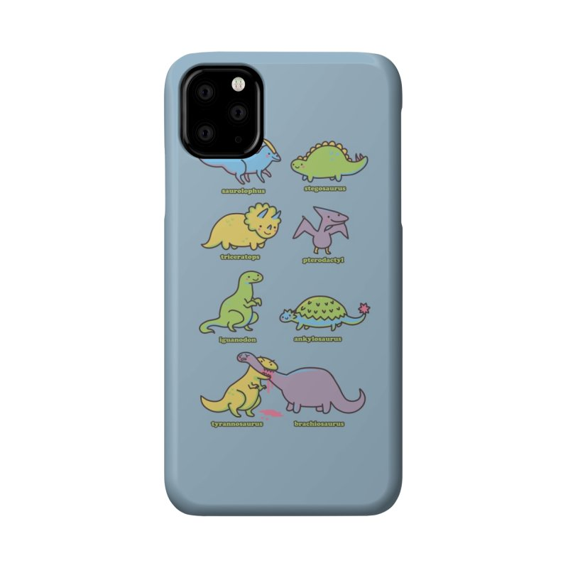 Know Your Dinosaurs Accessories Phone Case by Threadless Artist Shop