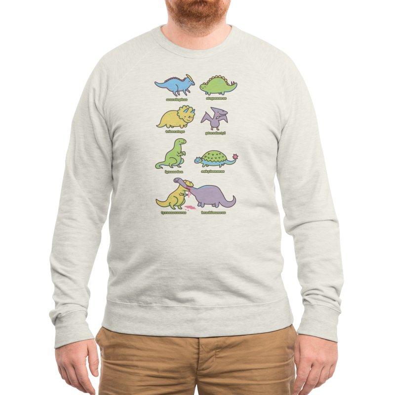 Know Your Dinosaurs Men's Sweatshirt by Threadless Artist Shop