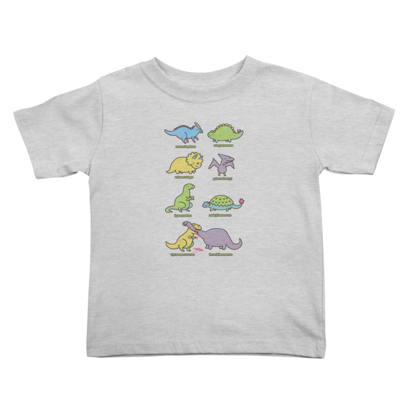 Know Your Dinosaurs Kids Toddler T-Shirt by Threadless Artist Shop