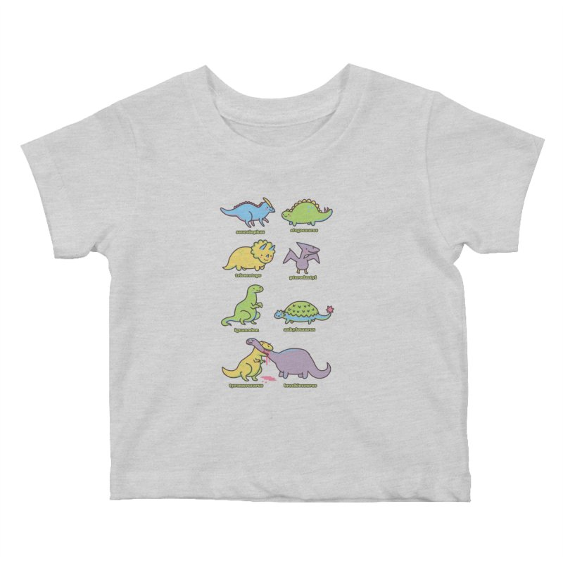 Know Your Dinosaurs Kids Baby T-Shirt by Threadless Artist Shop