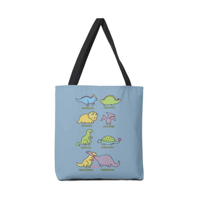 Know Your Dinosaurs Accessories Bag by Threadless Artist Shop