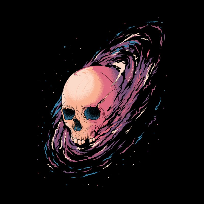 Cosmic Death Women's Zip-Up Hoody by Threadless Artist Shop