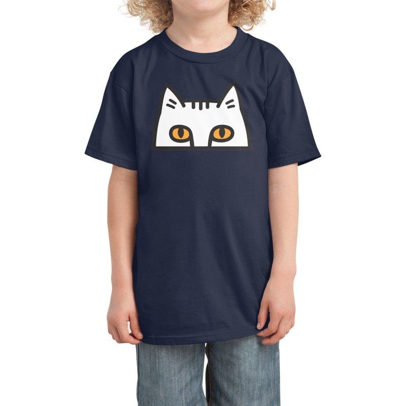 I'm Watching You Kids T-Shirt by Threadless Artist Shop