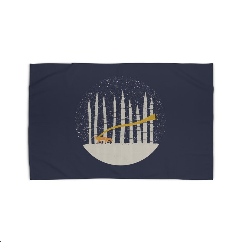 The Gold Scarf Home Rug by Threadless Artist Shop