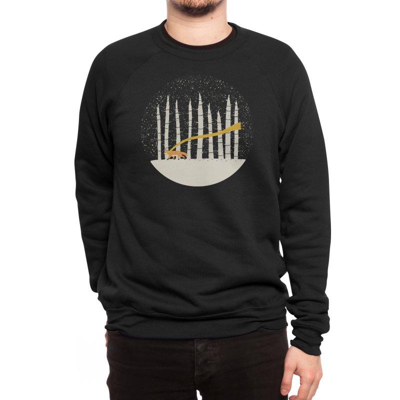 The Gold Scarf Men's Sweatshirt by Threadless Artist Shop