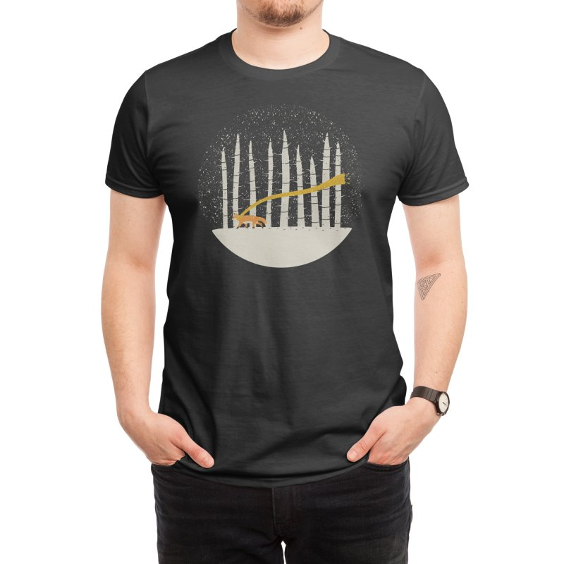 The Gold Scarf Men's T-Shirt by Threadless Artist Shop