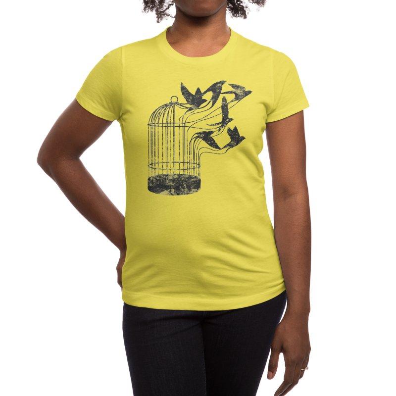 Breaking Through to Freedom Women's T-Shirt by Threadless Artist Shop