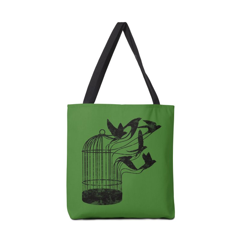 Breaking Through to Freedom Accessories Bag by Threadless Artist Shop