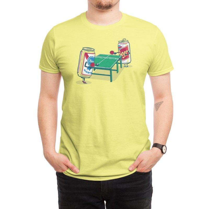 Beer Pong Men's T-Shirt by Threadless Artist Shop