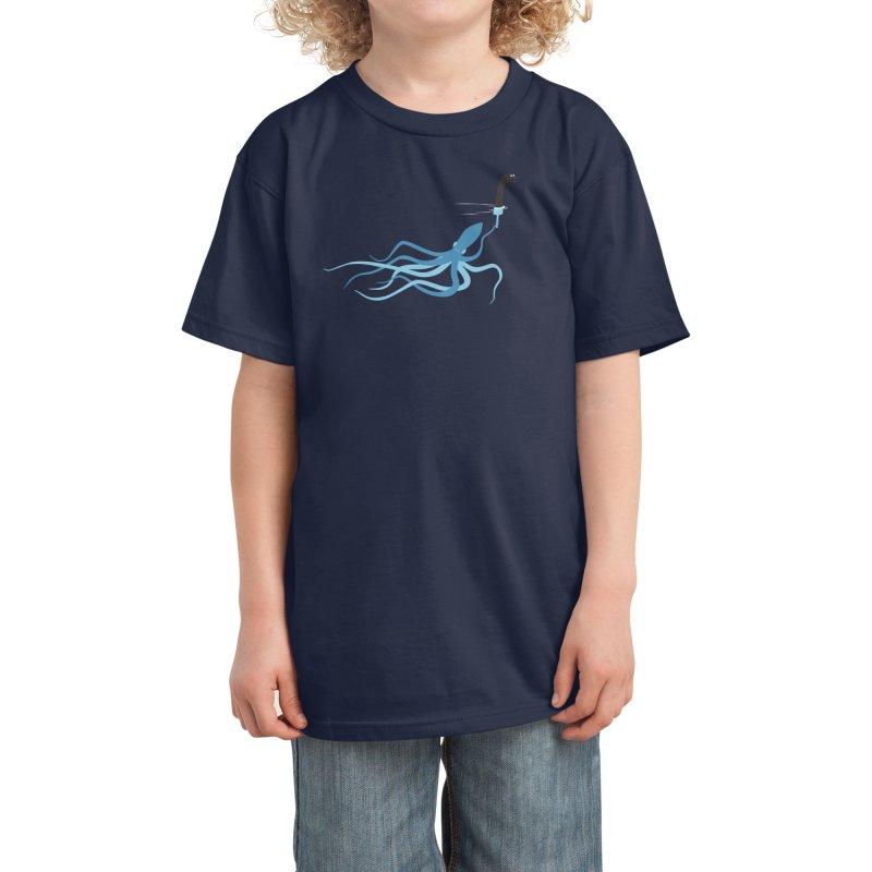 Loch Ness Imposter Kids T-Shirt by Threadless Artist Shop