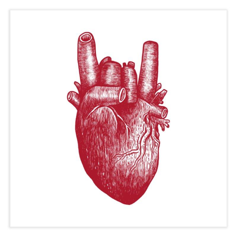Party Heart! Home Fine Art Print by Threadless Artist Shop