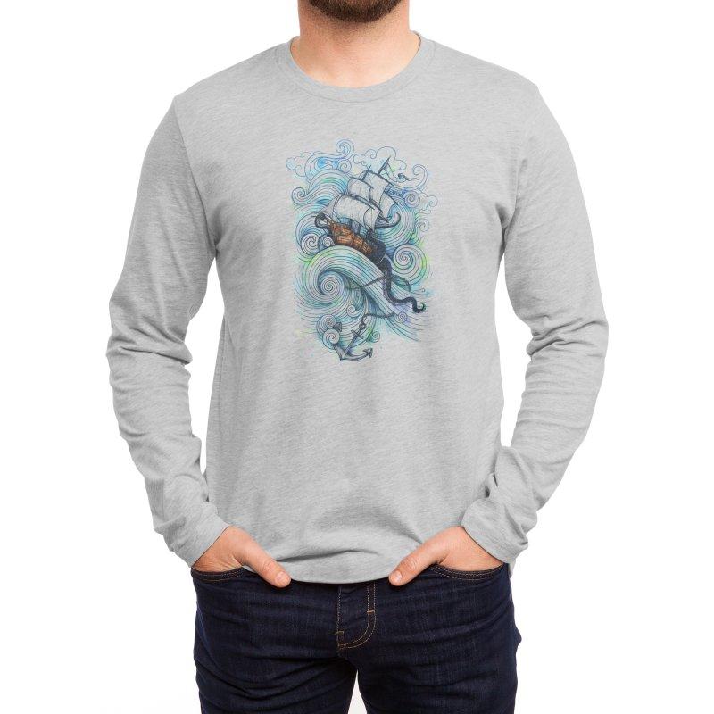 Long Journey Men's Longsleeve T-Shirt by Threadless Artist Shop