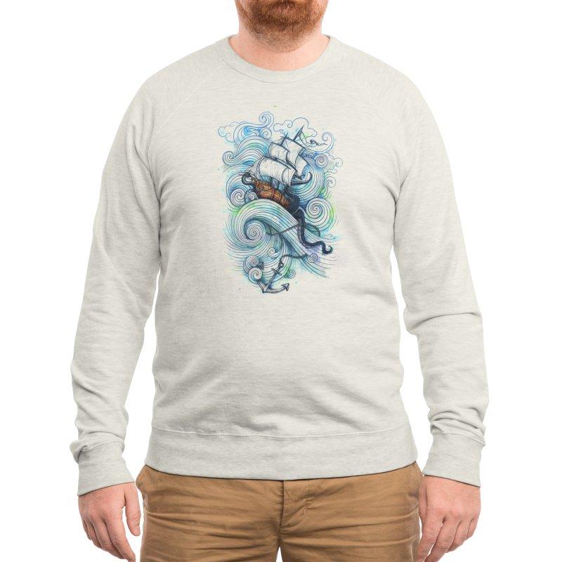 Long Journey Men's Sweatshirt by Threadless Artist Shop