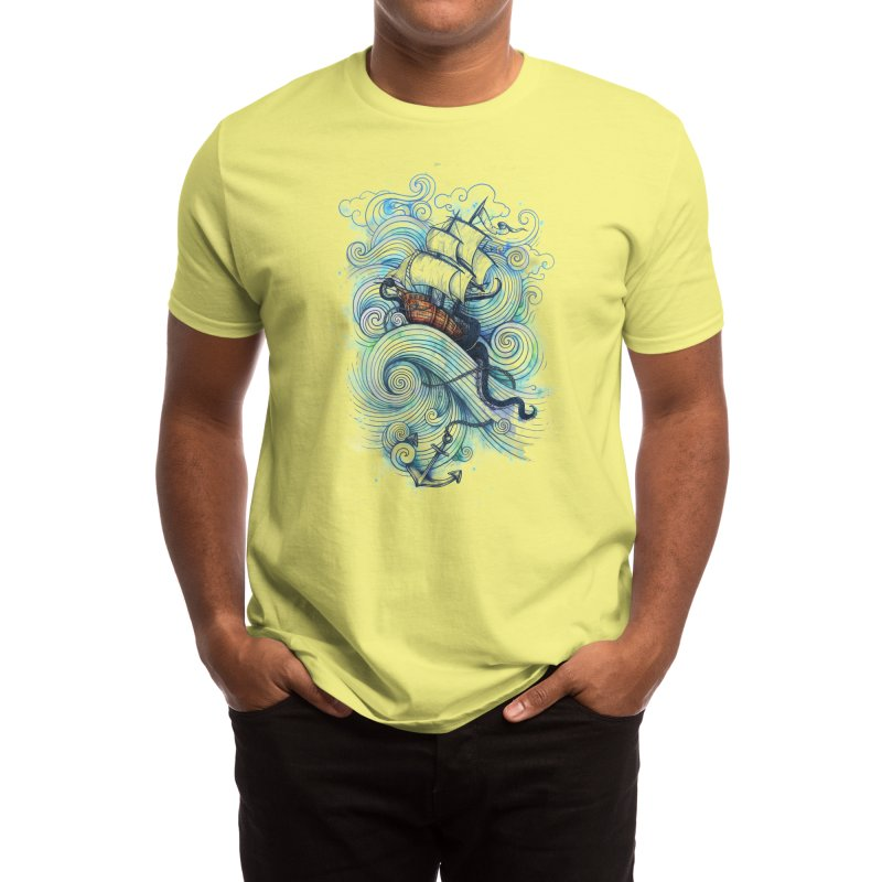 Long Journey Men's T-Shirt by Threadless Artist Shop