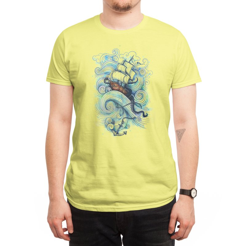Long Journey Men's T-Shirt by Threadless Artist Shop