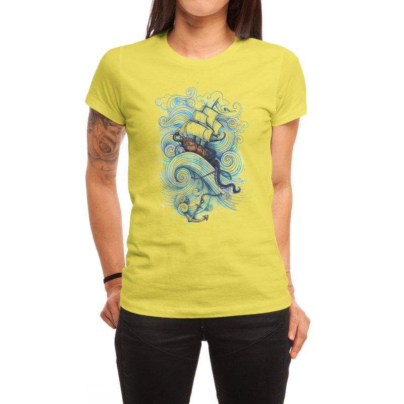 Long Journey Women's T-Shirt by Threadless Artist Shop